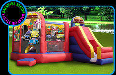 5 in 1 Bounce and Slide $349 + FREE DELIVERY
